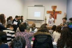 En el oratorio
