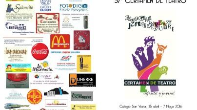 Díptico San ViatorTeatro 2016