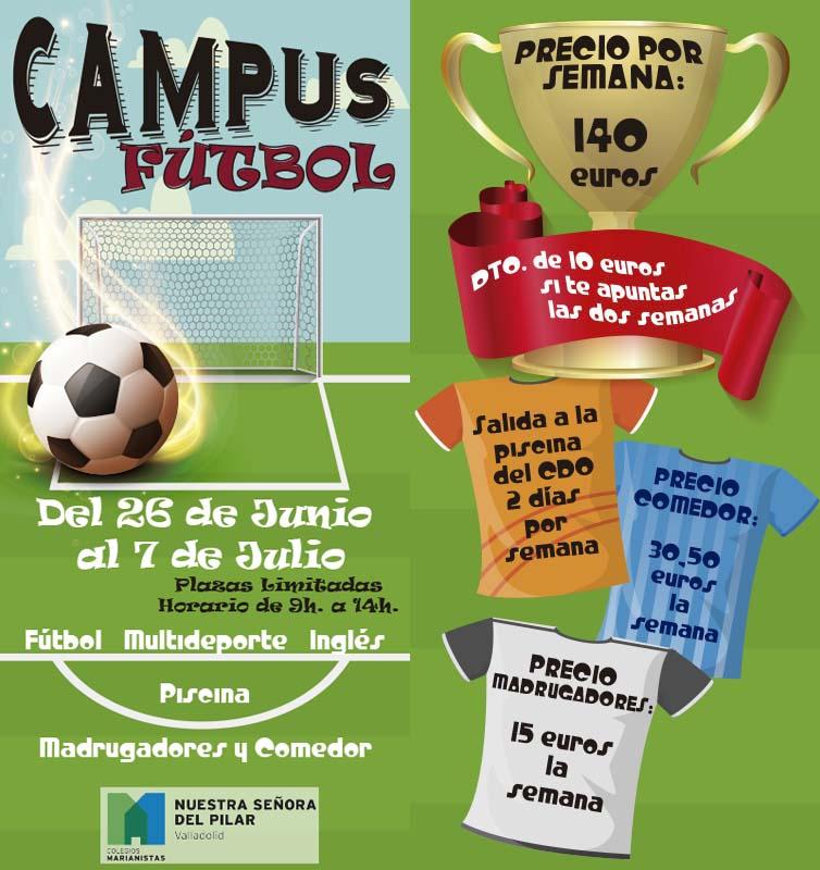 Campus Fútbol verano 2017